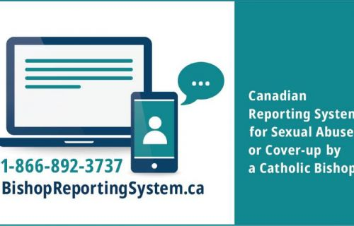 New Canadian Reporting System for Sexual Abuse or Cover-up by a Catholic Bishop